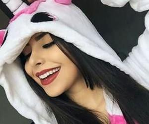 brunette, kawaii, and cute image