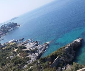 blue sea image
