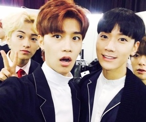 mark, jaehyun, and taeil image