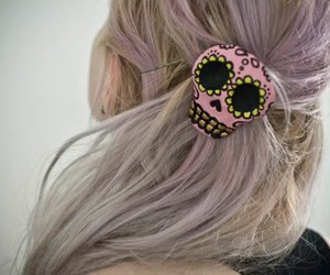 blonde, hair, and violet image