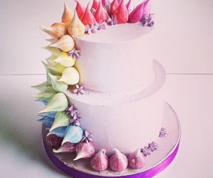 cakes, colourfull, and unicorn image