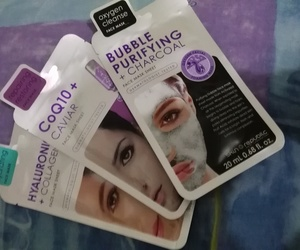 beauty, facemask, and makeup image