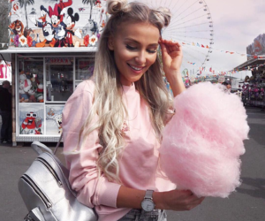cotton candy, fashion, and fun image