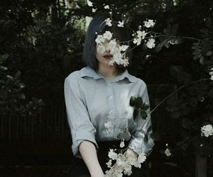 girl ، flower ، style image