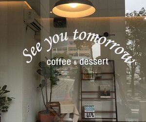 coffee, dessert, and cafe image