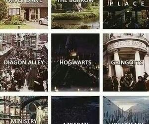 harry potter, hogwarts, and azkaban image