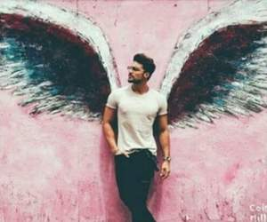 model, boy, and angel image
