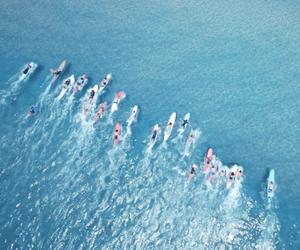 sea, summer, and adventure image