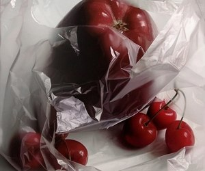 apples, marsala, and cherries image