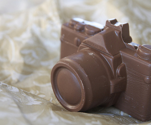 chocolate, camera, and food image