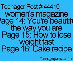 funny, teenager post, and magazine image