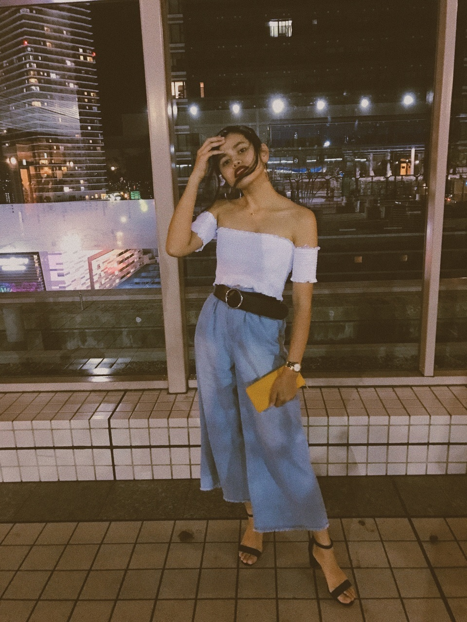 aesthetic, bandana, and beauty image