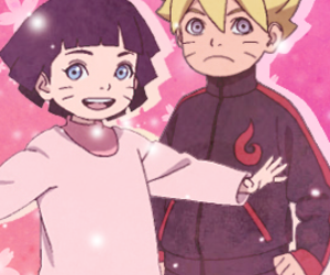 anime, naruto, and naruhina image