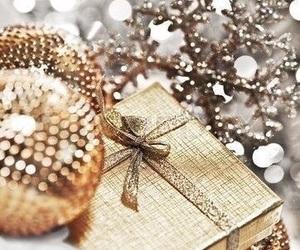 christmas, winter, and gift image