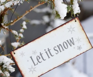 snow, christmas, and winter image