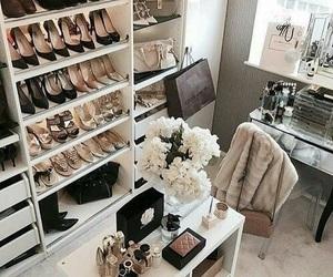 luxury, shoes, and closet image