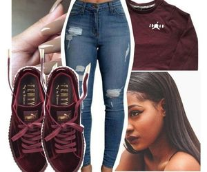outfit and puma image