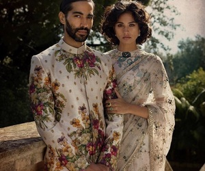 bollywood, couple, and fashion image