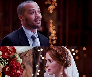 bride, wedding, and grey's anatomy image