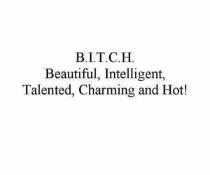 bitch, beautiful, and Hot image