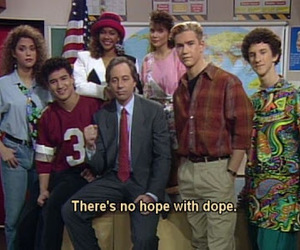 saved by the bell, dope, and 90s image