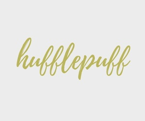 hufflepuff and yellow image