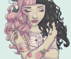 melanie martinez, drawing, and tattoo image