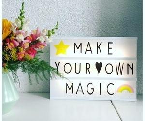 home, interior, and magic image