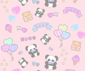 wallpaper, background, and kawaii image