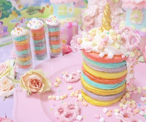 cake, candy, and girly image