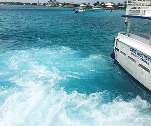boat, cruise, and jamaica image