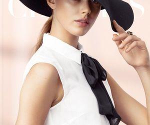 fashion, hat, and frida gustavsson image
