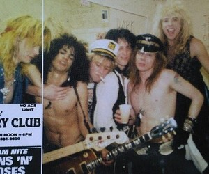 slash, steven adler, and axl rose image