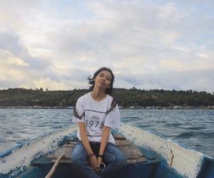 asian, girl, and holiday image