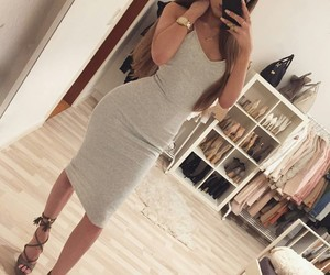 body, dress, and girly image