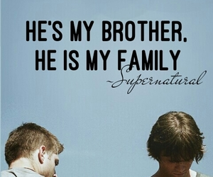 brother, sam winchester, and winchester image