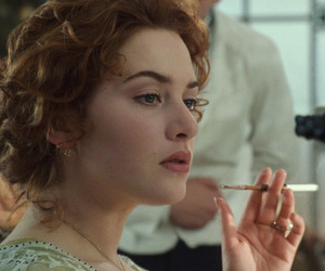 titanic, movie, and kate winslet image