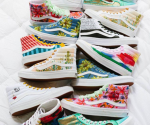colors, vans, and off the wall image