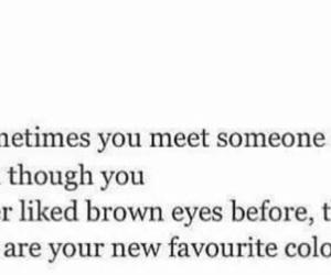 brown, deep, and eyes image