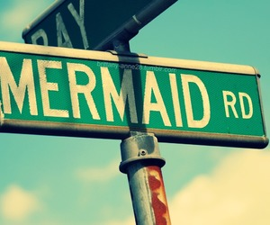 mermaid, summer, and road image