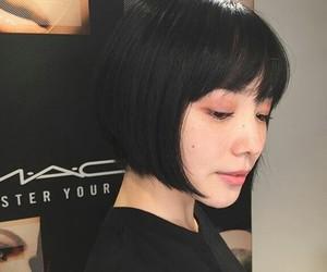 girl, japanese, and faky image