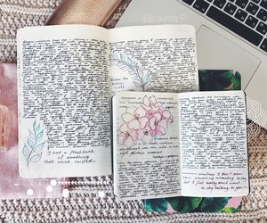 beautiful, diary, and personal diary image
