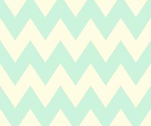 blue, white, and chevron image