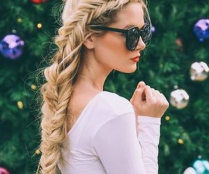 braid, girly, and elegant image