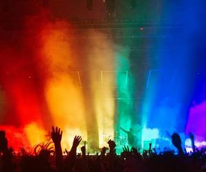 the 1975, concert, and aesthetic image