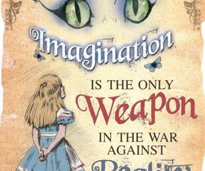 alice in wonderland, imagination, and alice image
