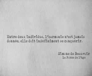 Citations, simone de beauvoir, and la force de l'age image