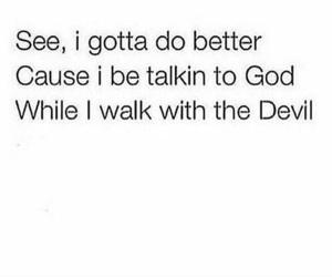 Devil, god, and hope image