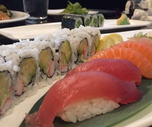 sushi rolls, tokyo, and californiaroll image