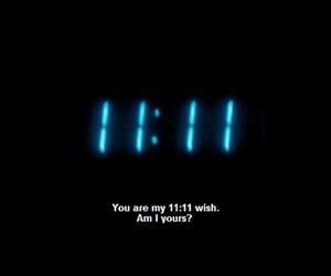 quotes, 11:11, and wish image